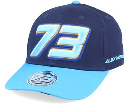Moto GP Alex Marquez Cap 73 Gun Alex Blue/Navy Adjustable - Moto GP