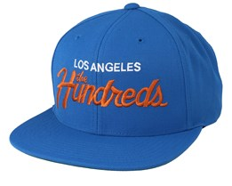 Team Sp19 Cobalt Snapback - The Hundreds