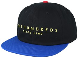 Matt Black Snapback - The Hundreds