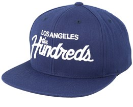 Team Navy/White Snapback - The Hundreds