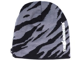 Major Black/Grey Traditional Beanie - The Hundreds