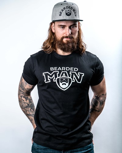 Team BM Black T-Shirt - Bearded Man
