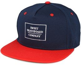 Company Navy/Red Snapback - Sweet