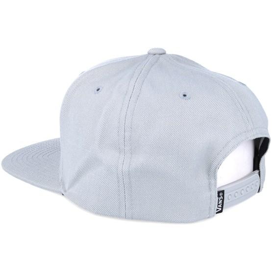 b4c9485ebc8 Drop V Grey Snapback - Vans caps