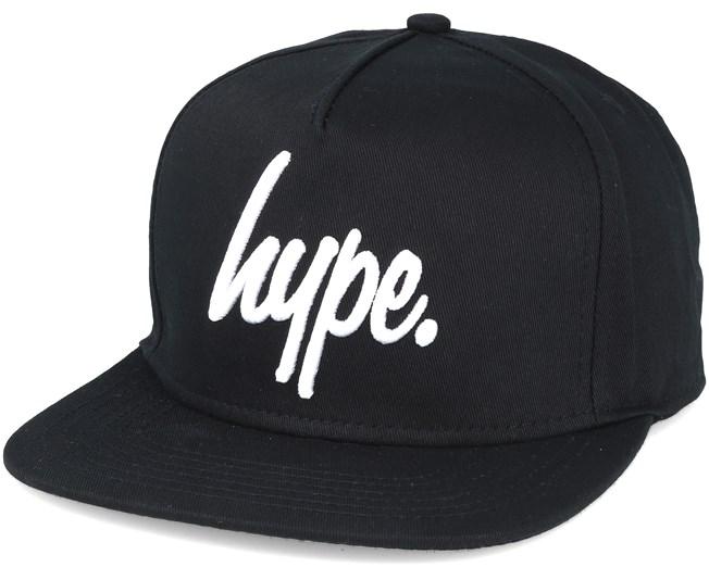 3bb866cbe4e Script Black white Snapback - Hype caps - Hatstoreworld.com