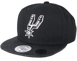 San Antonio Spurs Ultimate Black Snapback - Mitchell & Ness