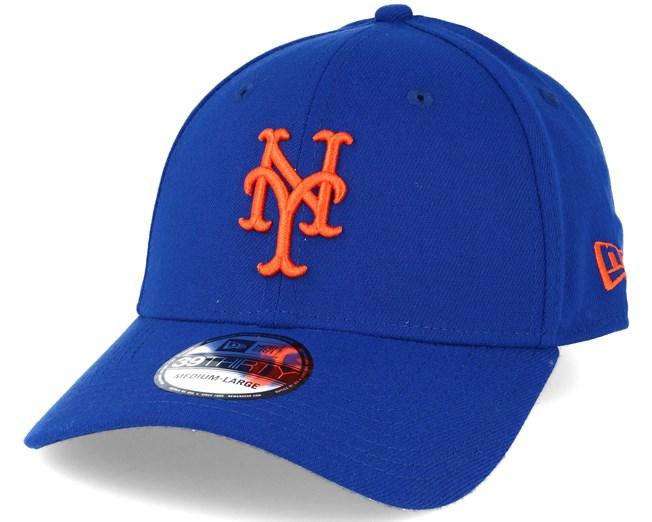 sports shoes c0c99 04257 NY Mets League Essential Blue 39thirty Flexfit - New Era