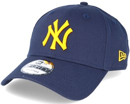 89eedcaad16 New York Yankees Seasonal Contrast Navy Adjustable - New Era