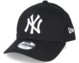 02ee9cdd925 Kids New York Yankees MLB League Basic Black Adjustable - New Era