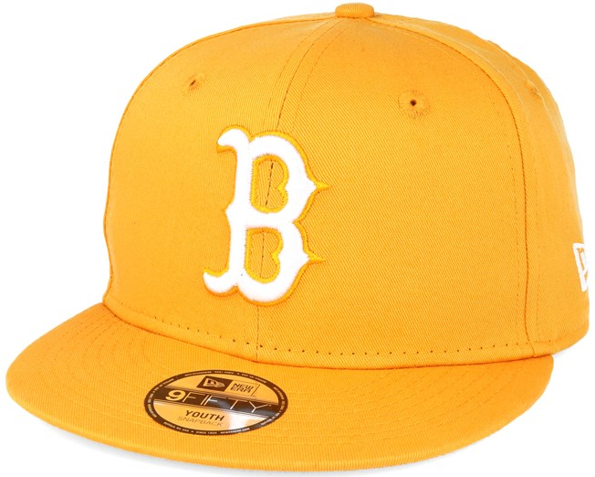 buy sale cheap for sale closer at Kids Boston Red Sox Kids NHL Basic Yellow 9fifty Snapback - New ...
