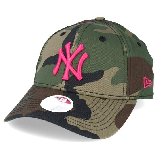 ede29ab1 New York Yankees MLB Fashion Camo 9forty Adjustable - New Era
