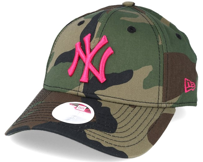 New York Yankees MLB Fashion Camo 9forty Adjustable - New Era caps ... 106b8250dc9