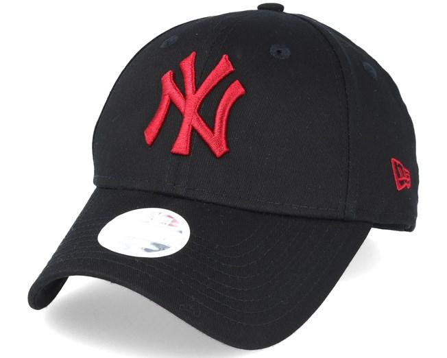 250673c5 New York Yankees MLB Fashion Black/Red 9forty Adjustable - New Era ...