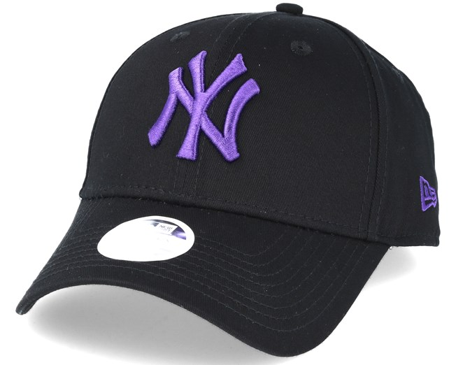 186c48e003b New York Yankees MLB Fashion Black Purple 9forty Adjustable - New ...