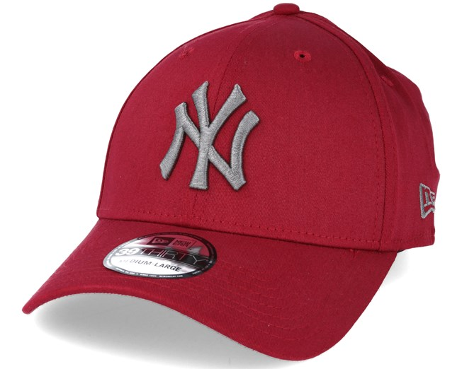 24094bb3525 New York Yankees MLB League Essential Red 39thirty Flexfit - New Era ...