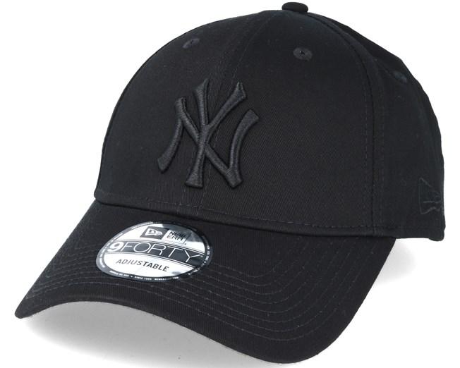 New York Yankees MLB League Ess Black 9forty Adjustable - New Era ... e069584bbbe