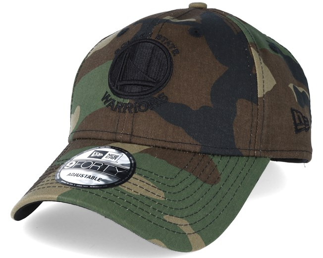 Golden State Warriors NBA Camo 9forty Adjustable - New Era keps ... 7cca390f59479