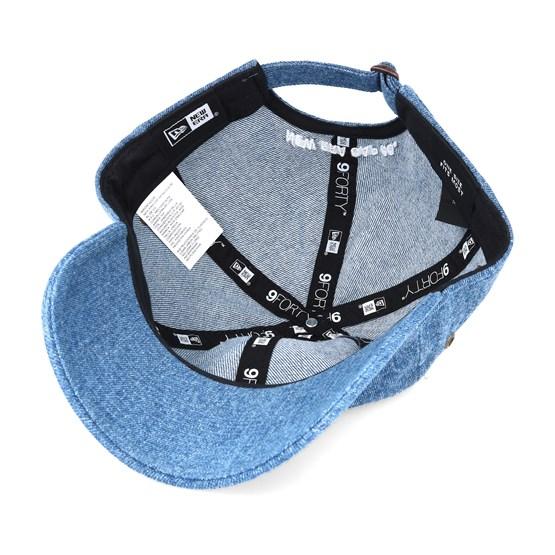 2ead56af4c4 Washed Denim Jeans Light Blue 9forty Adjustable - New Era caps ...