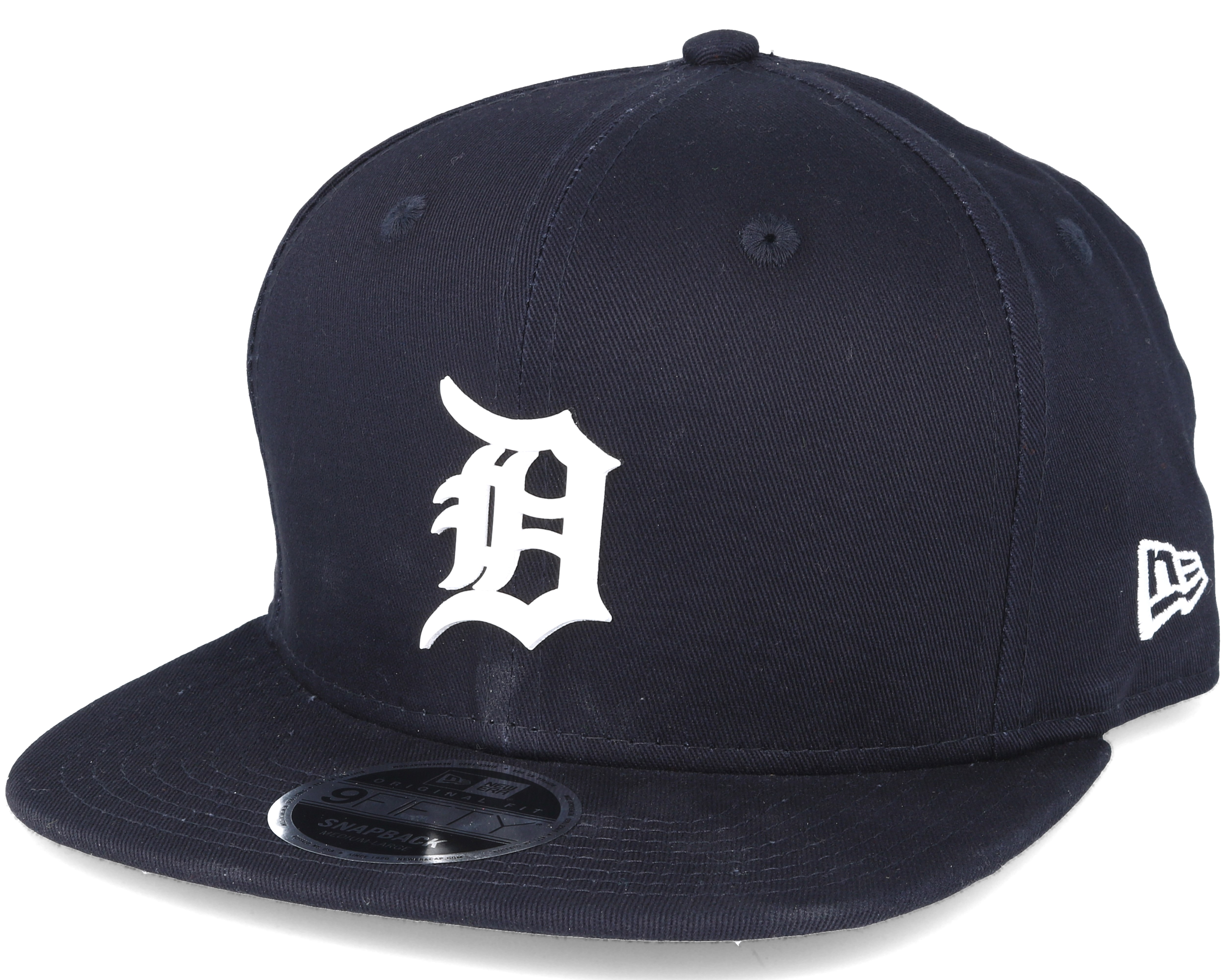 newest 6d096 ff179 Detroit Tigers MLB Rubber Badge Navy 9fifty Snapback - New Era