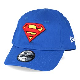 New Era Kids Hero Essential Inf Superman Blue 9forty Adjustable - New Era  £14.99 dbd53f15502