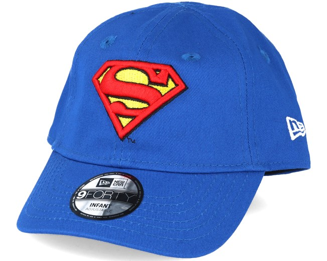 0812a56d88898 Kids Hero Essential Inf Superman Blue 9forty Adjustable - New Era ...