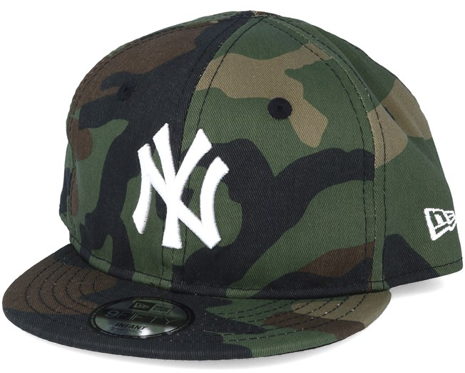 e36cc87eec1 Kids New York Yankees Inf MLB League Ess Camo 9fifty Snapback - New ...