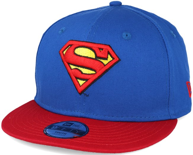 Kids Hero Essential Jr Superman Blue 9fifty Snapback - New Era caps ... 34712353033
