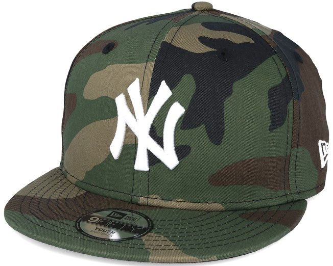 40dee76ce01 Kids New York Yankees Jr MLB League Ess Camo 9fifty Snapback - New ...