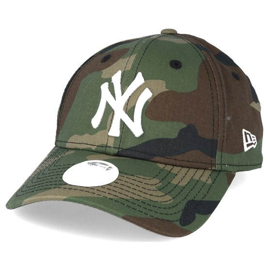 the sale of shoes exclusive shoes exquisite design New York Yankees MLB League Ess Wmn Camo 9forty Adjustable - New ...