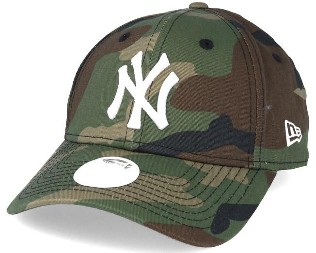 New York Yankees MLB League Ess Wmn Camo 9forty Adjustable - New Era ... 7241daa3b23