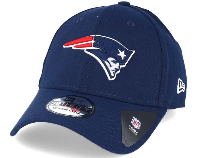 d371e72888d New England Patriots NFL Team Essential Stretch Blue 39thirty Flexfit - New  Era