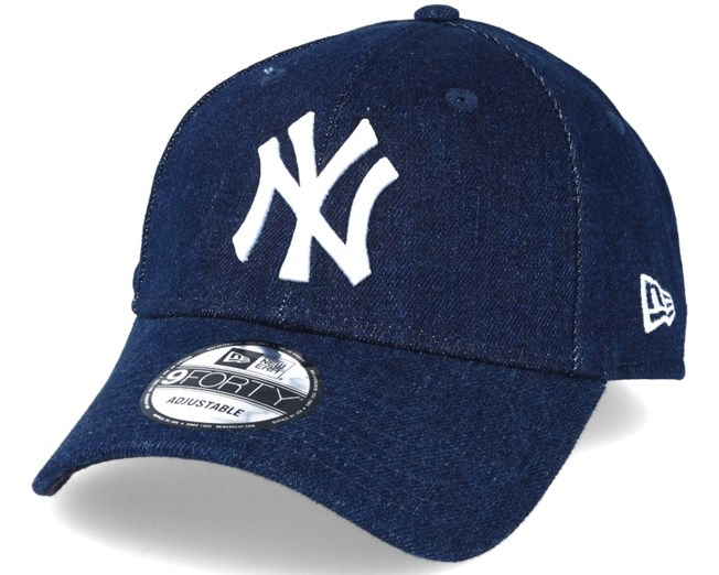 New Era 9Fifty Snapback Cap DENIM New York Yankees navy