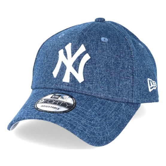 MLB New York Yankees royal New Era Adjustable Trucker Cap