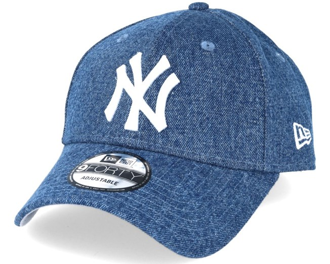 New York Yankees Denim Essential Royal 9forty Adjustable - New Era ... b84c342150d
