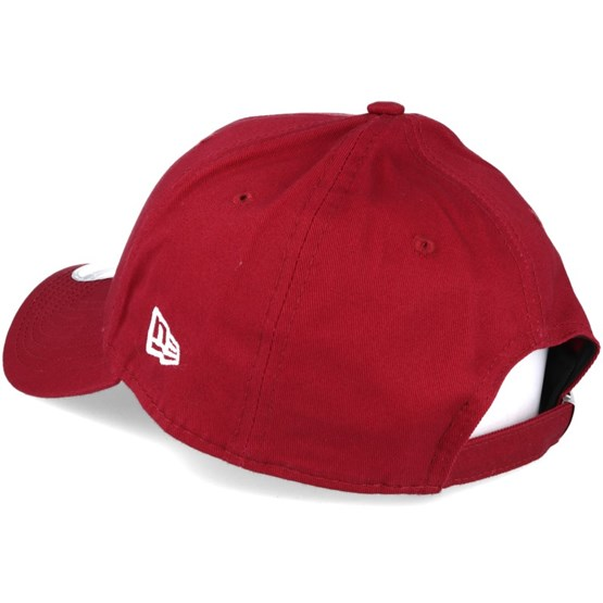 311498523a1 Philadelphia Phillies Flock Logo Red 9forty Adjustable - New Era caps