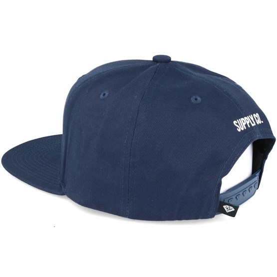 35e74e6db6bc79 Access Navy Snapback - Diamond caps - Hatstoreworld.com