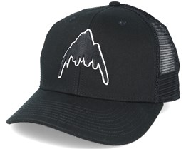 Harwood True Black Trucker Adjustable - Burton