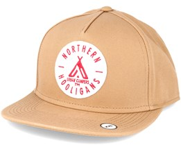 The Urban Campers Beige Snapback - Northern Hooligans