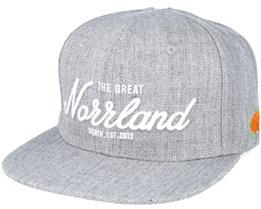 Great Norrland Grey Snapback - Sqrtn