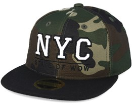 Kids Toronto 2 JR CAMO Snapback - State of wow