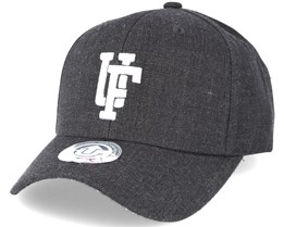 Spinback Baseball Dark Grey Snapback - Upfront