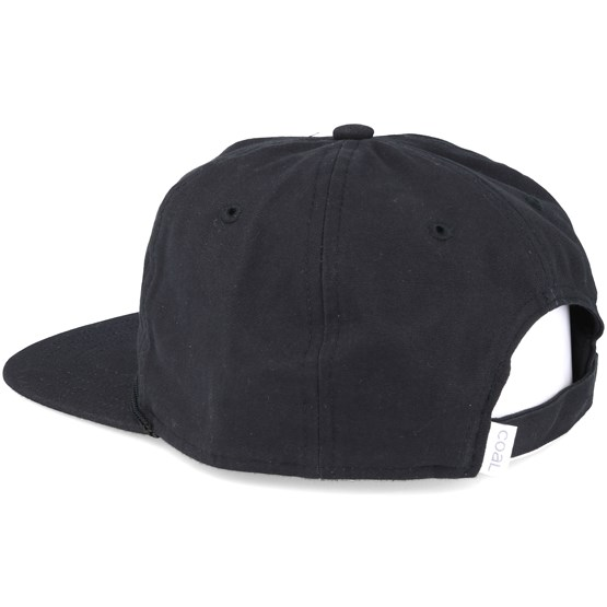 f5c74ee92d3 The Great outdoors. Black Snapback - Coal caps