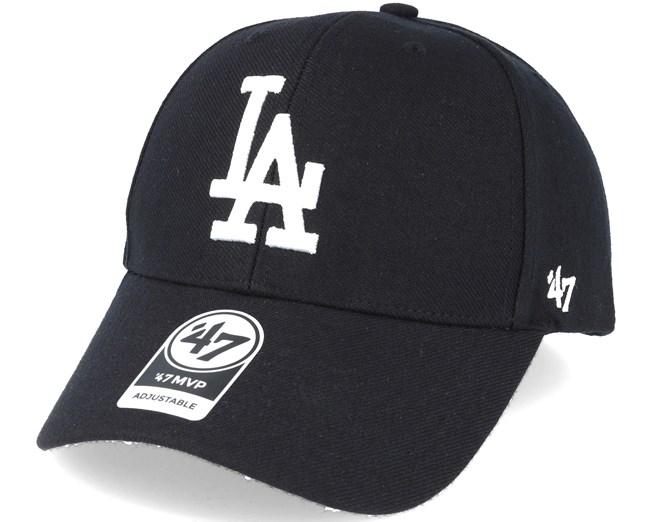 Los Angeles Dodgers 47 MVP Black Adjustable - 47 Brand cap ... 2e873c3ed85e