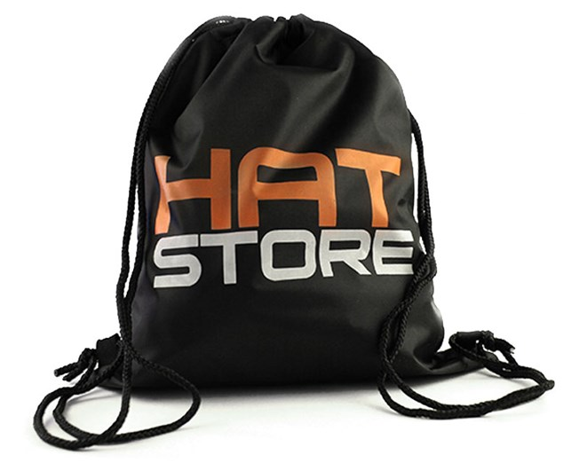 Gym Sack Black - Hatstore