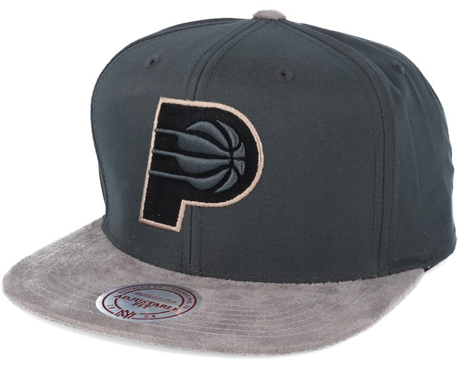 another chance a1b68 9a1f0 Indiana Pacers Buttery Charcoal grey Snapback - Mitchell ...