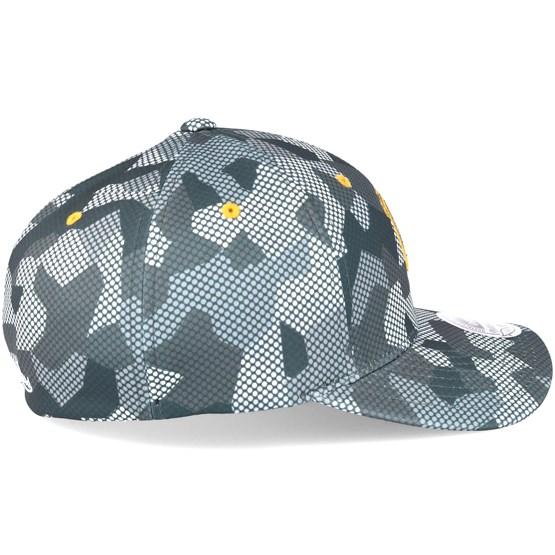 dc59dfd6c4ab5 Golden State Warriors Carbon Camo Slouch Flexfit - Mitchell   Ness cap -  Hatstore.de