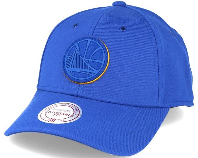 436f55259ee Golden State Warriors Filter 2.0 Snapback Blue Adjustable - Mitchell   Ness