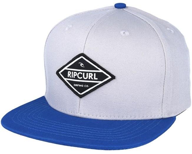e14bf80f84b Undertow Diamond Grey Blue Snapback - Rip Curl caps - Hatstoreworld.com
