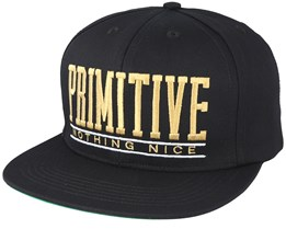 Dropout Black Snapback - Primitive