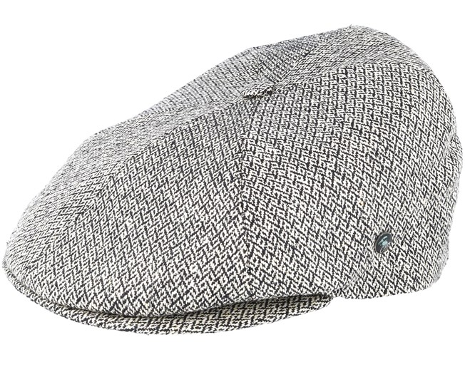 Sixpence Stripe 3X Grey Flat Cap - City Sport caps - Hatstoreworld.com 14df6db8e5f
